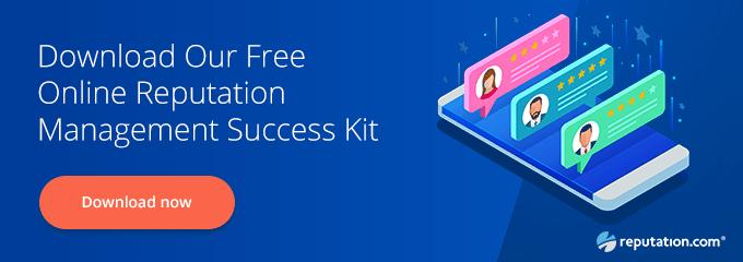 Online reputation success kit