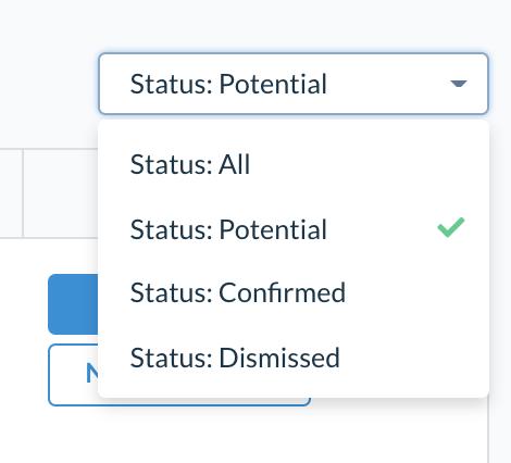 Set status to potential screenshot.