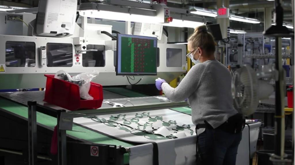 New balance manufacturing facility.