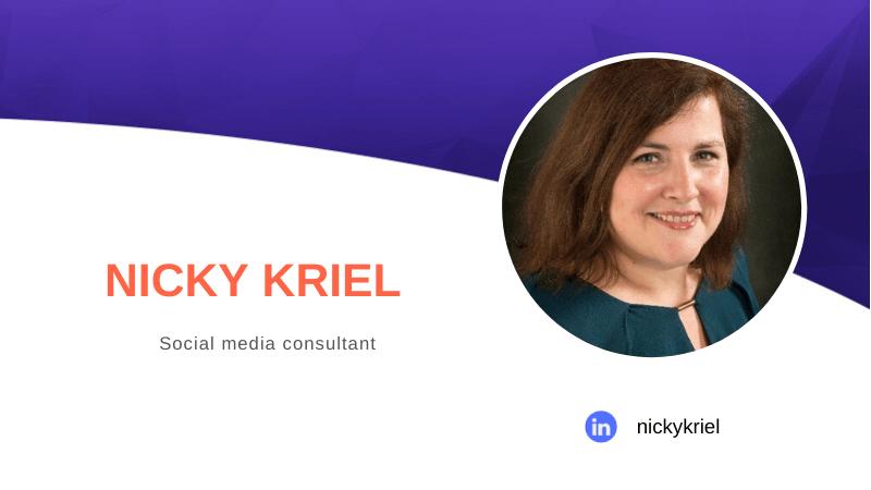 Nicky Kriel.