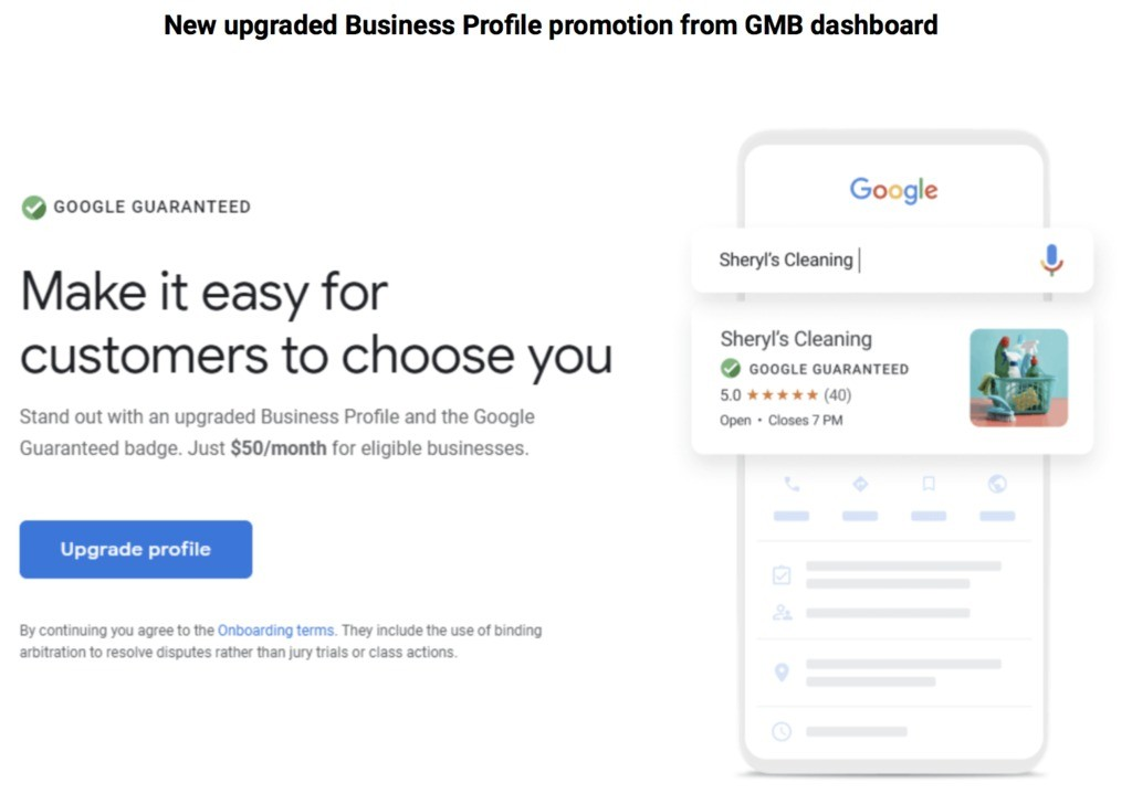 Make it easy for customer to choose you using Google my business.