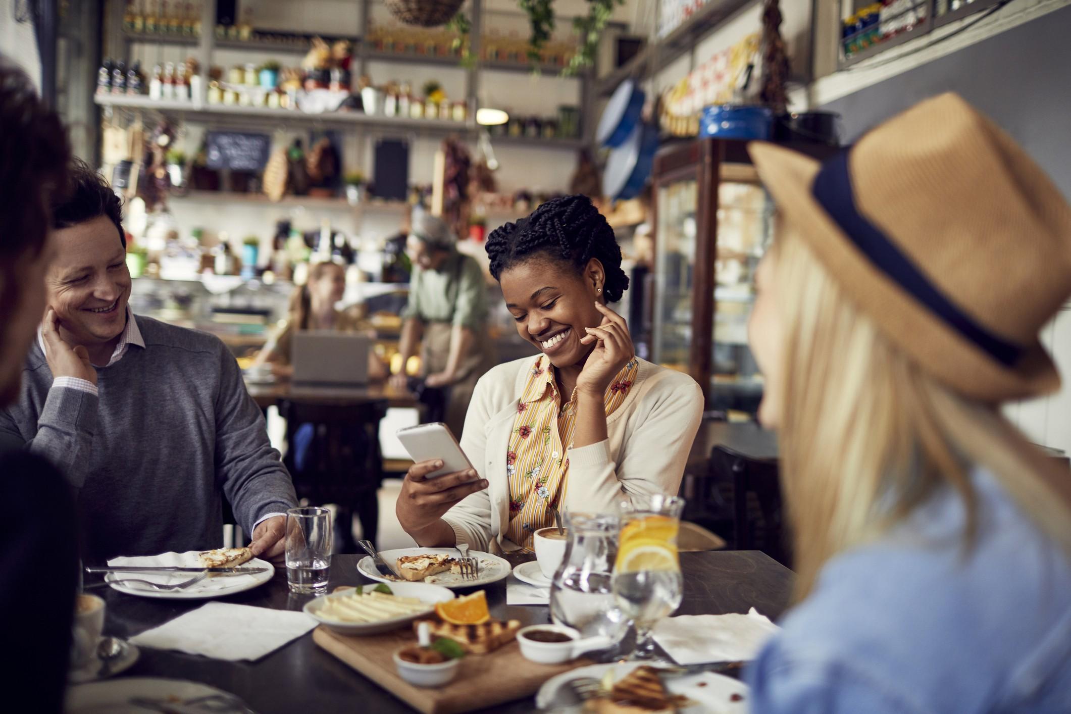 Referral marketing at restaurants